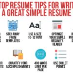 Top 25 Tips for a Better Resume