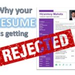 Why your Resume/CV is getting Rejected
